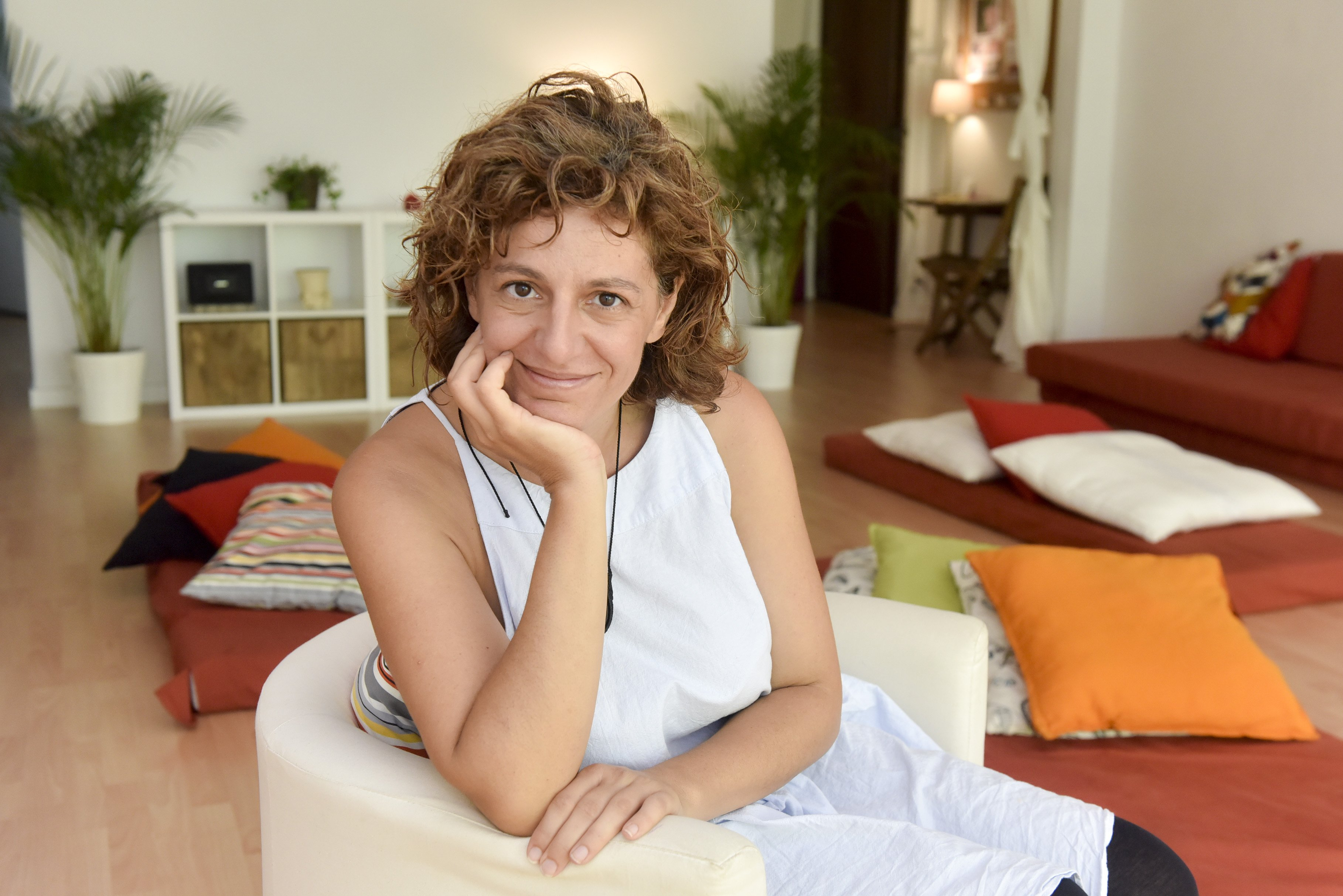 María José Rueda, de Wadaka Konnection, ayudada por Trinijove y Obra Social la Caixa (1)