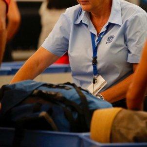 Treballadors Eulen aeroport Prat T1 - Sergi Alcàzar