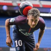 Neymar Jr presentació PSG parc princeps   EFE