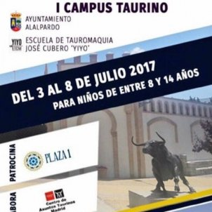 Cartel Campus Taurino Comunidad Madrid