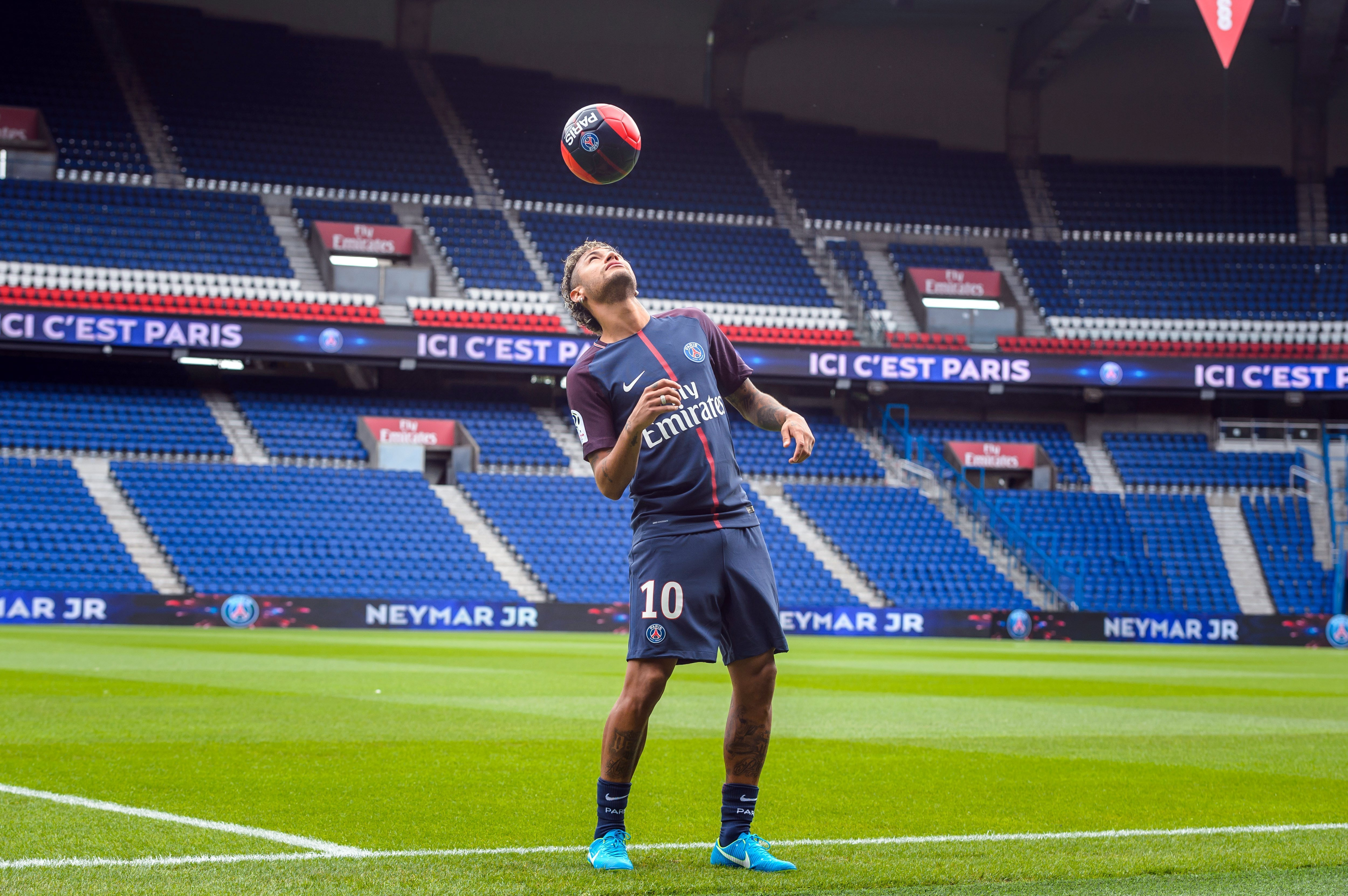 Neymar Parc Princeps presentacio PSG   EFE