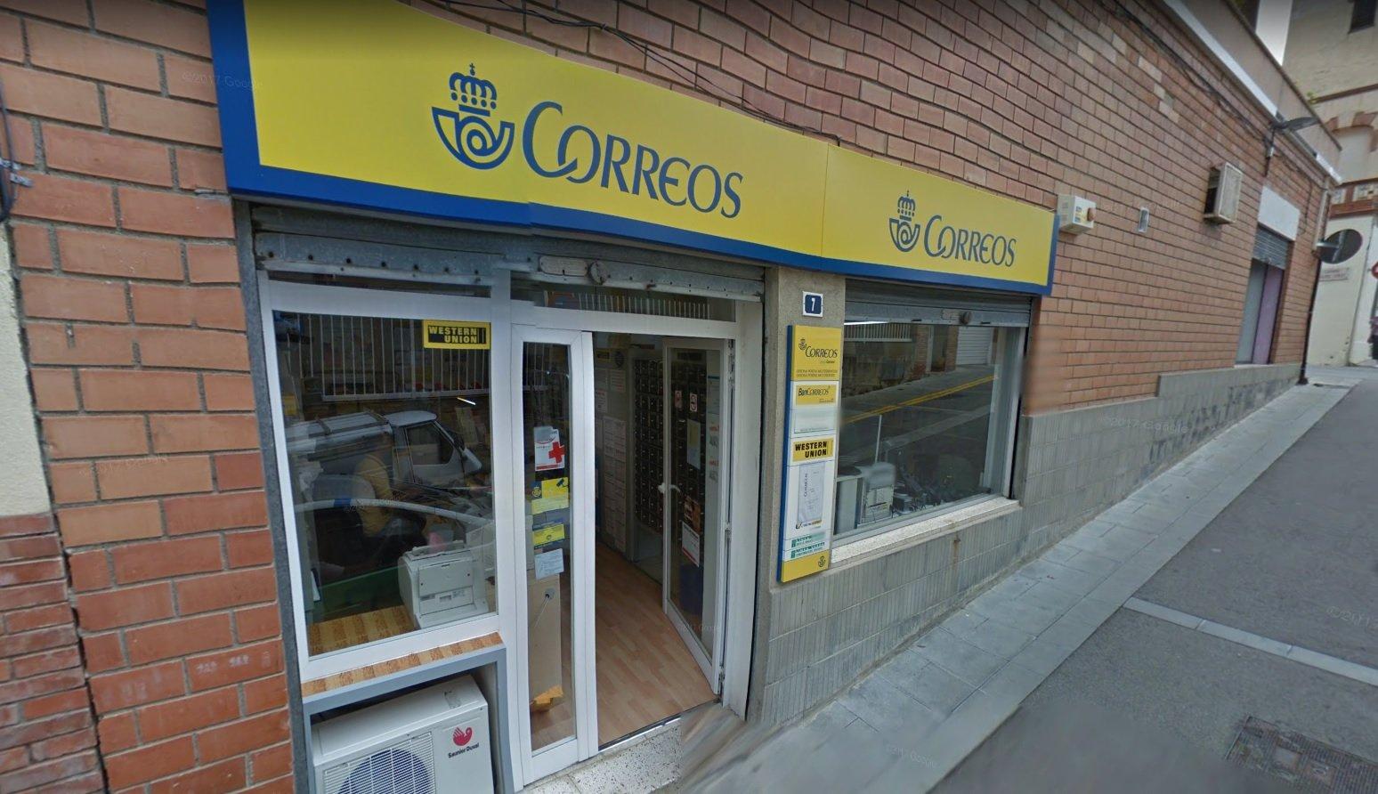 Los enigm ticos atracos en oficinas de correos for Oficina de correo barcelona