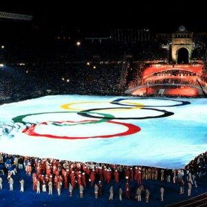 Cerimonia inauguració jocs olimpics bcn 92   EFE