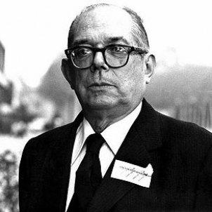 Mor Pierre Vilar, l'historiador de la Catalunya moderna. Font Wikimedia Commons