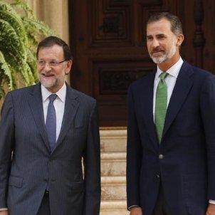 Rajoy i rei Felipe EP