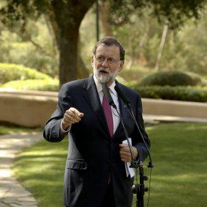 Mariano Rajoy en Palma con el Rey / EFE