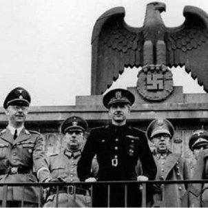 Serrano Suñer es converteix en el número dos del regim franquista. Serrano Suñer a Alemanya. Font Wikipedia