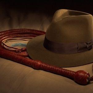 Indiana Jones. Barret i fuet