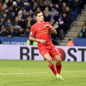 Coutinho futbolista Liverpool   EFE