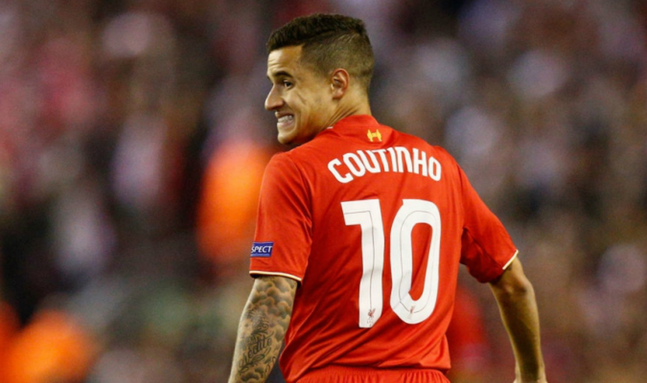 Philippe Coutinho 10 Liverpool   EFE