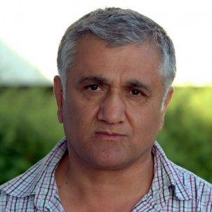 periodista turc Hamza Yalçin odak