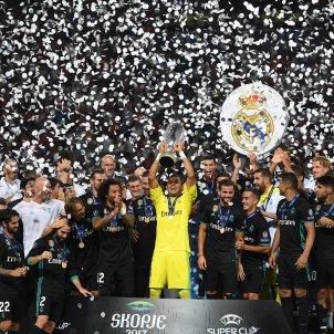 Madrid Manchester United Macedonia Supercopa Europa   EFE