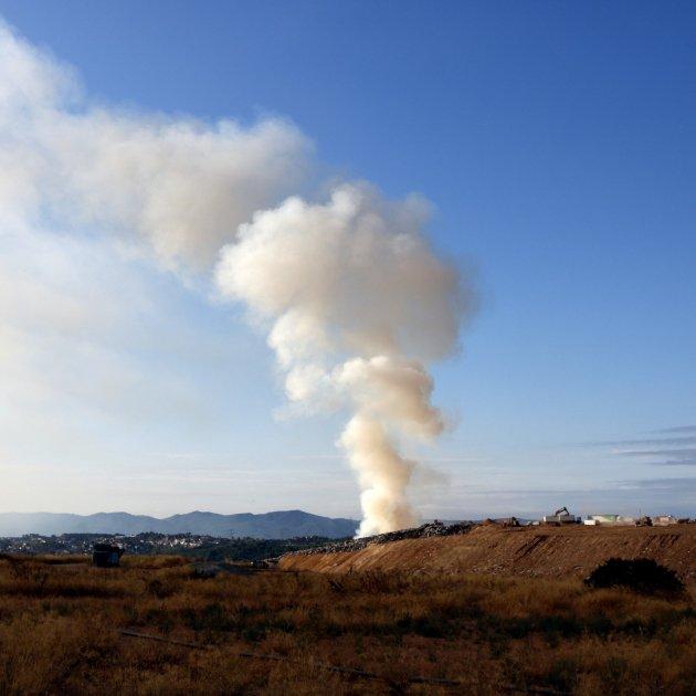 Incendi abocador Hostalets de Pierola