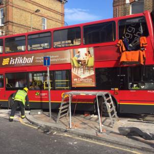 Autobús Londres @MPSWandsworth