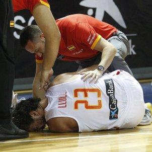 Sergio Llull lesió selecció espanyola   EFE