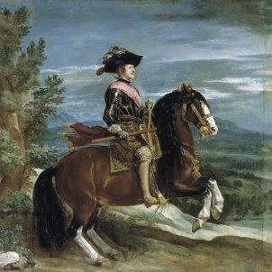 Retrato de Felipe IV a caballo