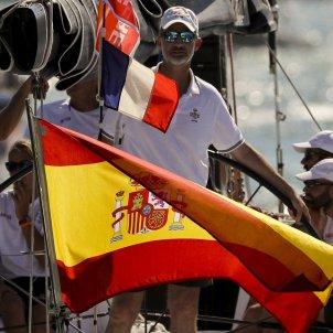 Felipe Rei bandera espanyola EFE
