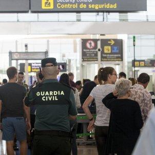 guardia civil aeroport prat efe