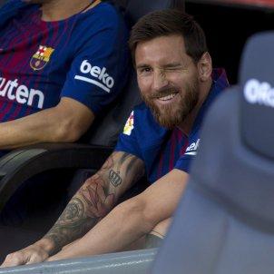 Leo Messi Camp Nou Gamper   EFE