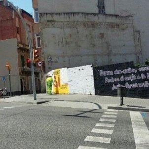 Mural CUP Horta independència   twitter