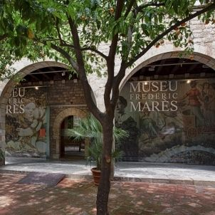 Pati del Museu Marès. © MFM. Figueroa&Stallard