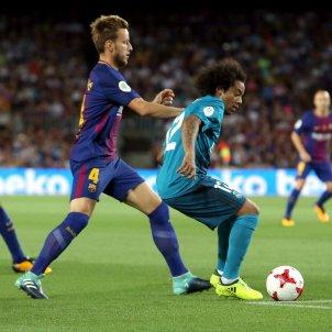 Rakitic Marcelo Barça Madrid Efe