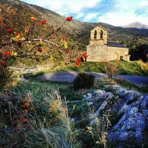 Sant Quirc. Temple romànic de la Vall de Boí. Turisme Alta Ribagorça