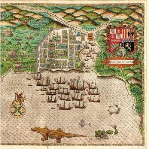 El tarragoní Ballester funda la primera capital americana. 15 08 1496. Font Wikimedia Commons