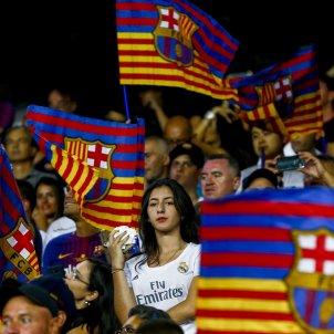 Camp Nou Barça Reial Madrid afició Efe