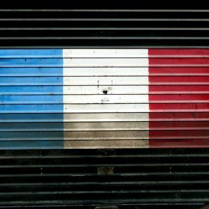 França bandera garatge (Metro Centric)