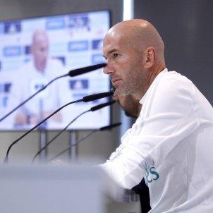 Zinedine Zidane Reial Madrid Efe