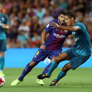 Luis Suárez Varane Barça Reial Madrid Efe
