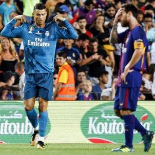 Messi Cristiano Ronaldo Barça Reial Madrid Efe
