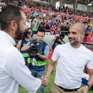 Pep Guardiola Pablo Machín Efe