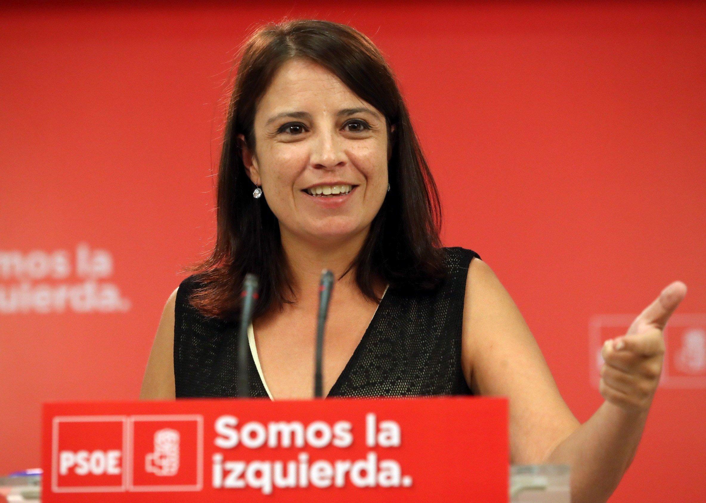 Adriana Lastra PSOE - Efe