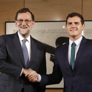 Mariano Rajoy-Albert Rivera-3-efe