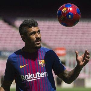 Barça Paulinho presentacio   EFE