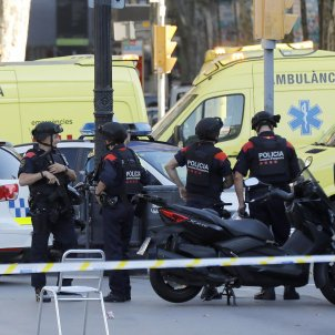Atac terrorista Barcelona   EFE