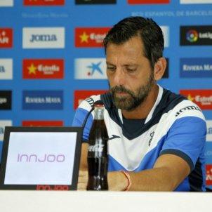 Quique Sanchez Flores roda de premsa   Espanyol