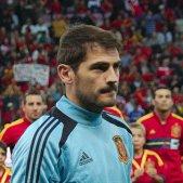 Spain   Chile   10 09 2013   Geneva   Iker Casillas 1
