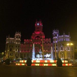 Cibeles Senyera - Ajuntament Madrid