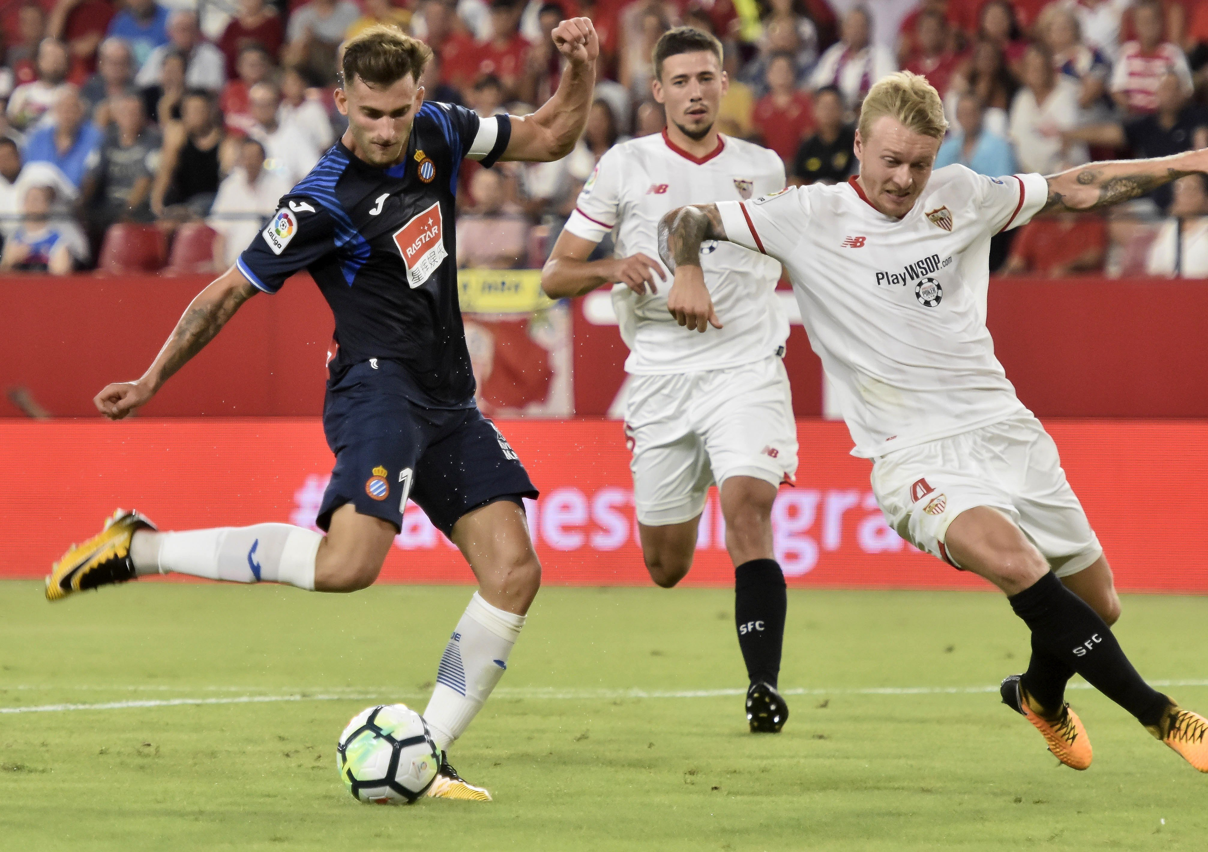 Leo Baptistao Espanyol Sevilla Efe