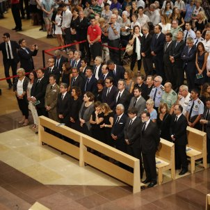 Missa per la pau Sagrada Familia Govern Rajoy Puigdemont - Sergi Alcàzar
