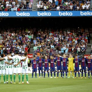 Barça Betis minut silenci Efe