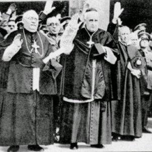 Mor Gomà i Tomàs. Gomà i Tomàs a Toledo (1936). Font Wikimedia Commons