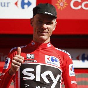 Chris Froome Vuelta a Espanya Efe