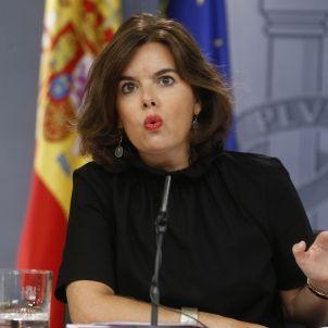 Soraya Sáenz de Santamaría-PP-efe