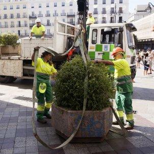 Bolardos Barcelona - EFE