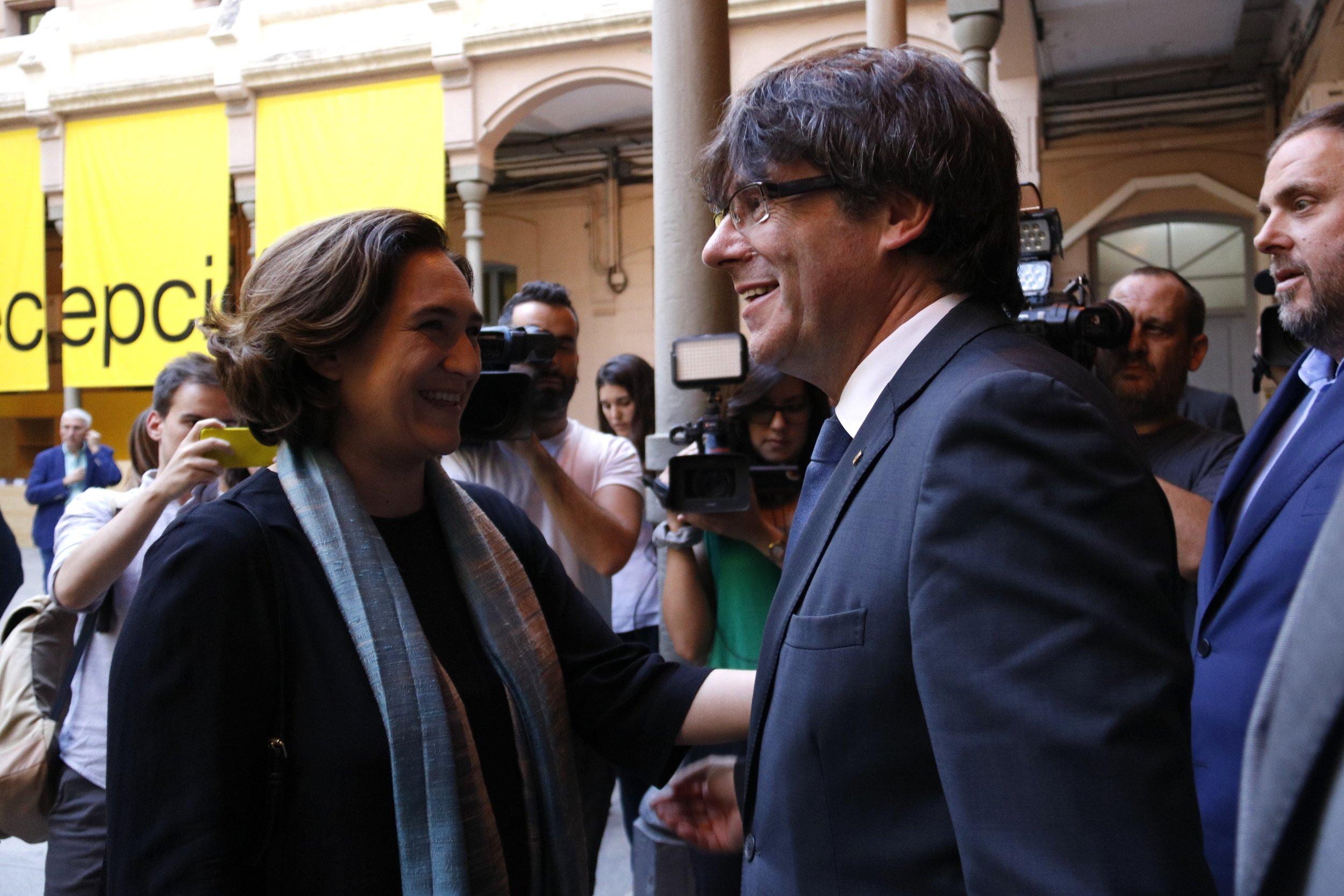 Puigdemont i Colau ACN