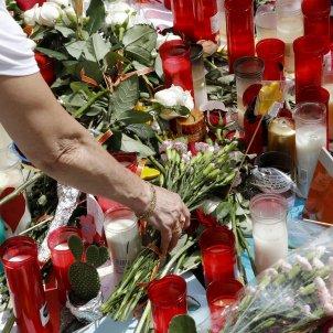 flors rambla atemptat barcelona efe